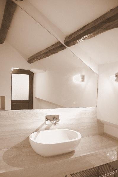 Trendy foto with bagni travertino - Pavimenti lucidi a specchio ...